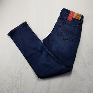 Levi's mid rise skinny Jean's 33 womens size 16